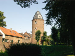 Foto des Mühlenturms in Kranenburg